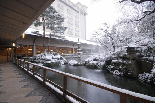 水明館酒店冬天相片
