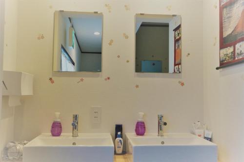 Un baño de Hana Hostel Fujisan