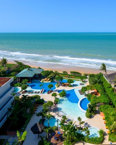 A view of the pool at Vogal Luxury Beach Hotel & SPA or nearby