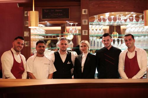 Staff members at Dubrovnik Hotel-Restaurant