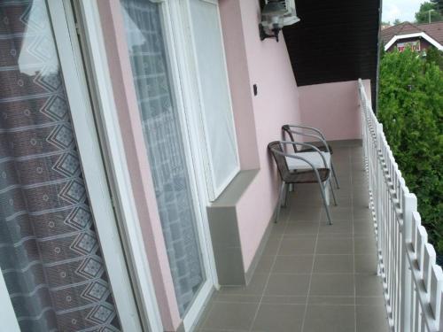 A balcony or terrace at Korona Panzio