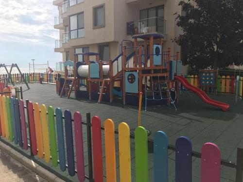 Children's play area at Apartment in Obzor Beach Resort