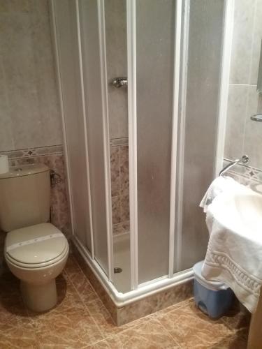 A bathroom at Hotel Campus Tavern