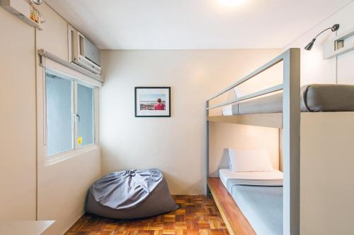 A bunk bed or bunk beds in a room at Z Hostel