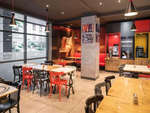Εστιατόριο ή άλλο μέρος για φαγητό στο Hotel Ibis Krakow Centrum