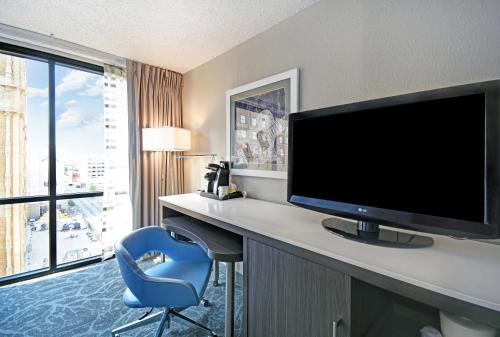 A television and/or entertainment center at Holiday Inn Memphis-Downtown (Beale St.), an IHG hotel