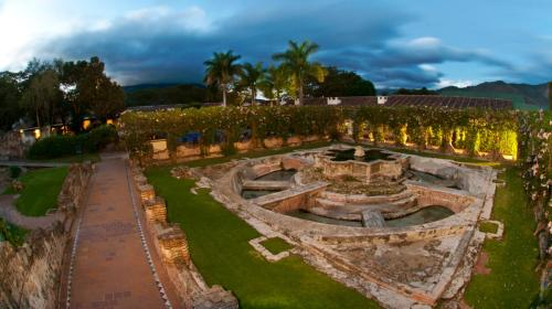 A bird's-eye view of Hotel Museo Spa Casa Santo Domingo