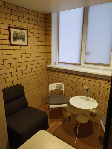 A seating area at Boutik Hotel Surgut