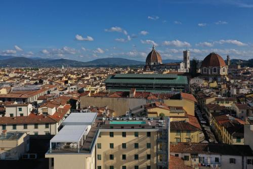 Een luchtfoto van Hotel Glance In Florence