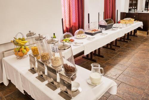 Restaurace v ubytování Hotel Royal