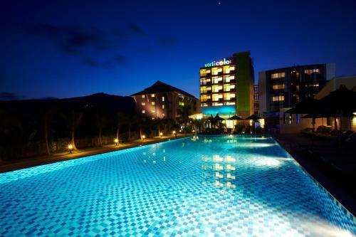 The swimming pool at or near Samui Verticolor