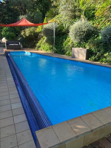 The swimming pool at or near Villa Kerjanus