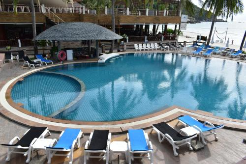 The swimming pool at or close to Phangan Bayshore Resort Koh Phangan