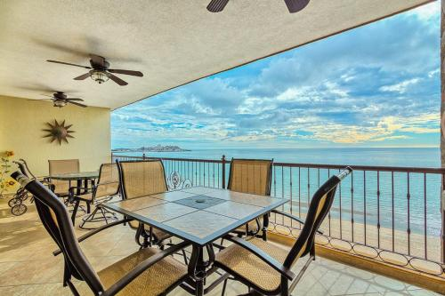 A balcony or terrace at Rocky Point Sonoran Sky