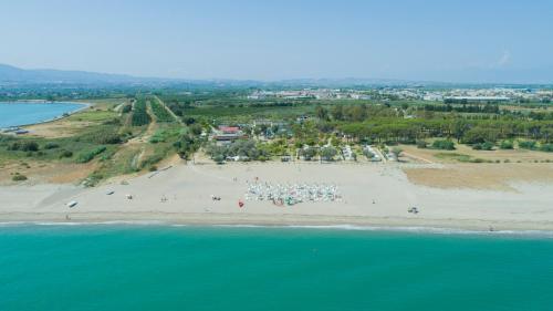 Vista aerea di Village Due Elle