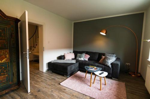 Ein Sitzbereich in der Unterkunft Urlaubstraum in Salzburgs Toplage