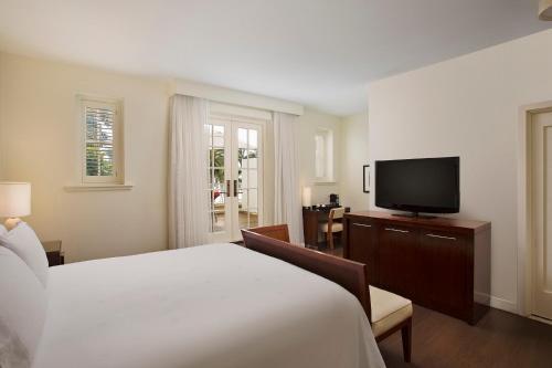 A television and/or entertainment center at Casa Marina Key West, A Waldorf Astoria Resort