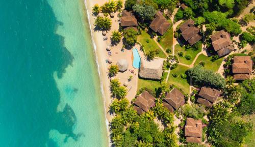 A bird's-eye view of Belizean Dreams Resort