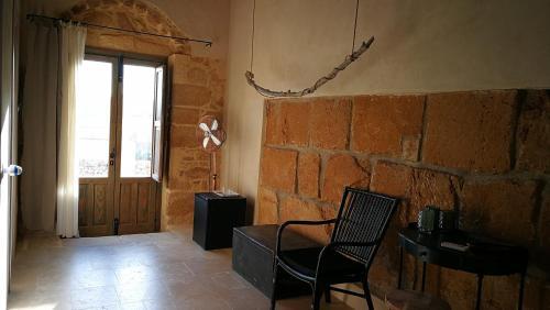 A seating area at Casette Marianeddi