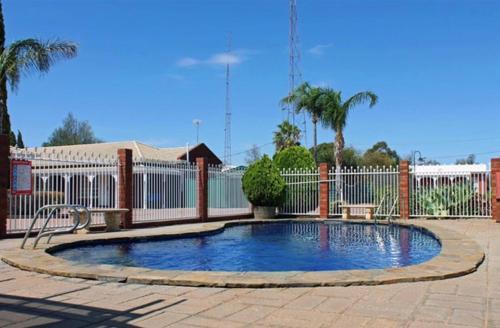 The swimming pool at or near John Pirie Motor Inn