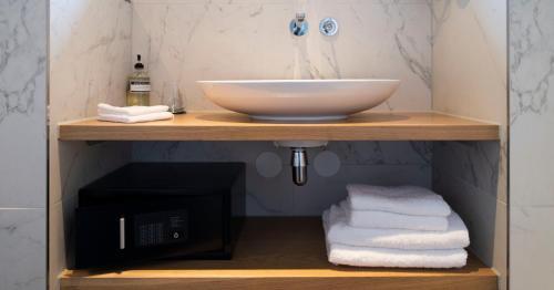 A bathroom at WesterVilla
