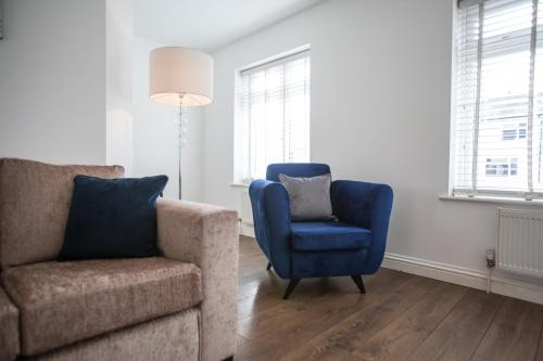 A seating area at Vale House