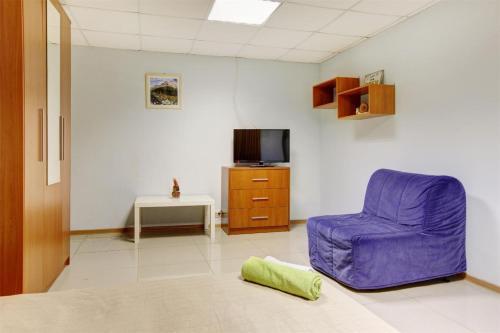 Гостиная зона в Мини гостиница Брусника