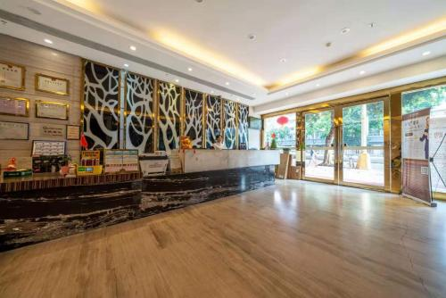 The lobby or reception area at Slowcom┃Yuebei Hotel (Guangzhou Provincial Government)