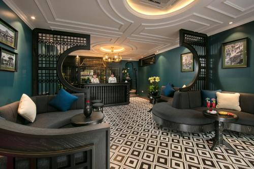 The lobby or reception area at Grande Collection Hotel & Spa