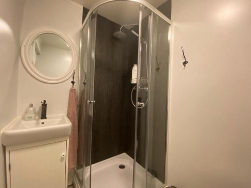 Un baño de Prestshús 2 Guesthouse