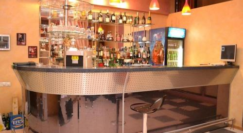 The lounge or bar area at Гостевой дом ИМПЕРИАЛ