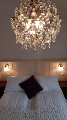 En eller flere senger på et rom på Erzscheidergaarden
