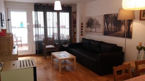 Zona de estar de Apartamentos el Camino