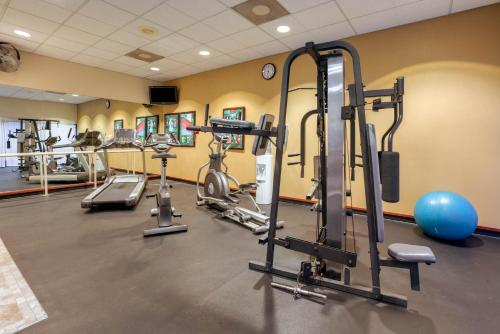 The fitness center and/or fitness facilities at Executive Inn by the Space Needle