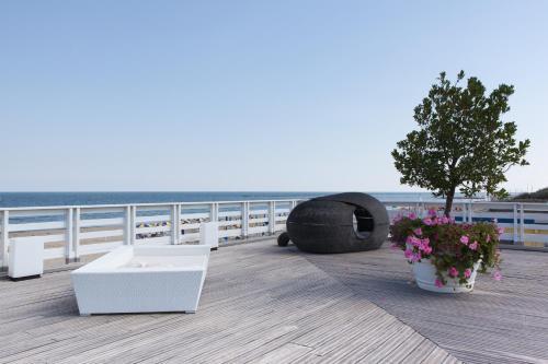 Balcone o terrazza di Terme Beach Resort