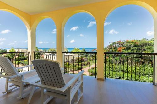 A balcony or terrace at Riu Palace Zanzibar - All Inclusive