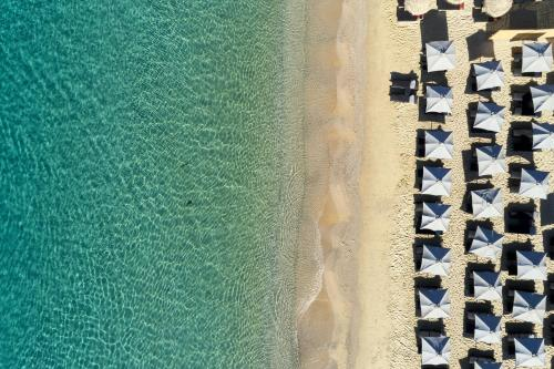 A bird's-eye view of Royal Myconian - Leading Hotels of the World