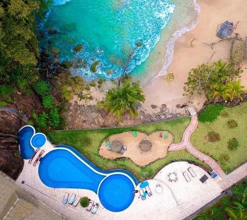 A view of the pool at Red Frog Beach Island Resort or nearby