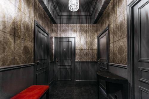 A bathroom at Arome Hotel