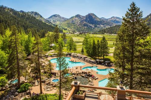 A view of the pool at Resort at Squaw Creek, a Destination by Hyatt Residence or nearby