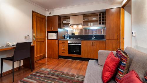 Una cocina o zona de cocina en Time Apartment