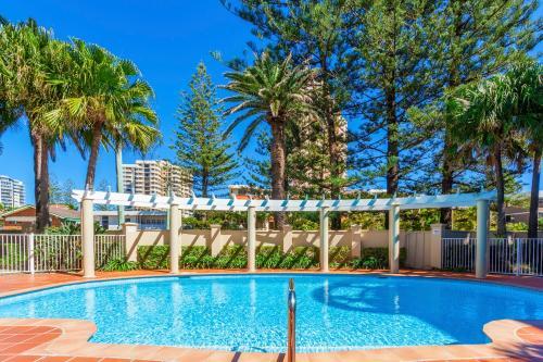 The swimming pool at or near La Grande Apartments