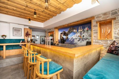 Lounge oder Bar in der Unterkunft Gasthof Schützenhof