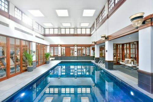 The swimming pool at or close to The Savoy