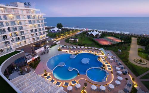 A view of the pool at Radisson Collection Paradise Resort and Spa Sochi or nearby