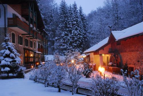 Naturidyll Hotel Hammerschmiede im Winter