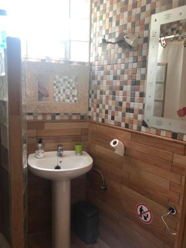 Un baño de Casa Elisa Canarias