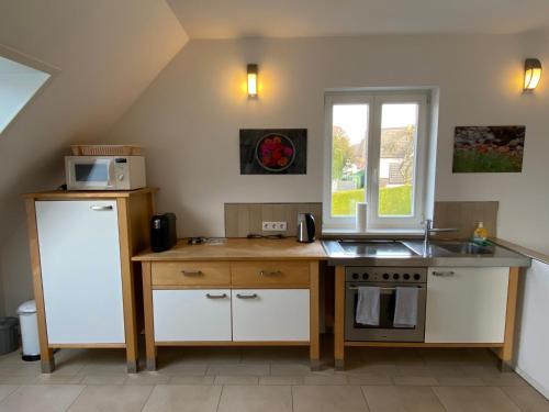 Küche/Küchenzeile in der Unterkunft Flat39