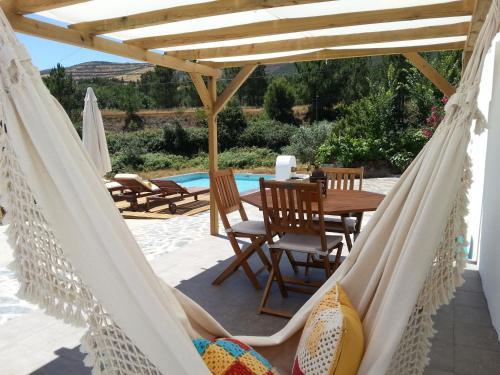 The swimming pool at or near Casa Dos Galegos