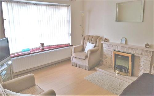 Apartment with 2 bedrooms in Bangor, with furnished garden and WiFi